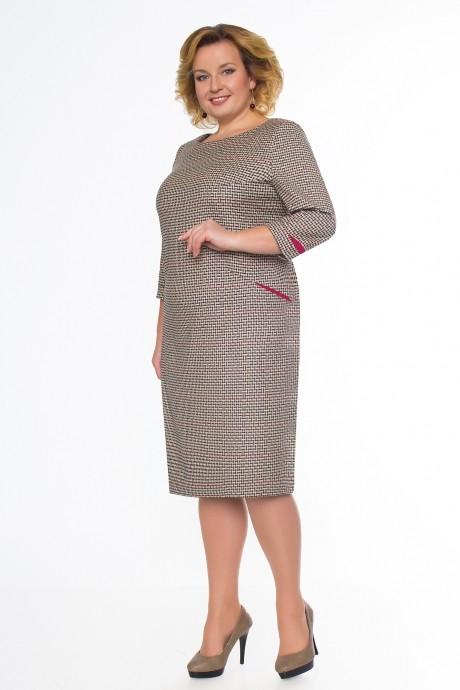 Повседневные платья Bonna Image 15-130/1 бежевая корзина