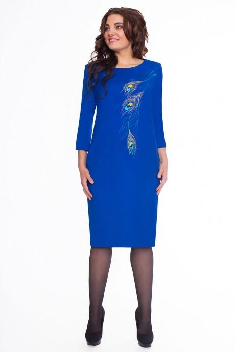 Повседневное платье Bonna Image 15-132 синий