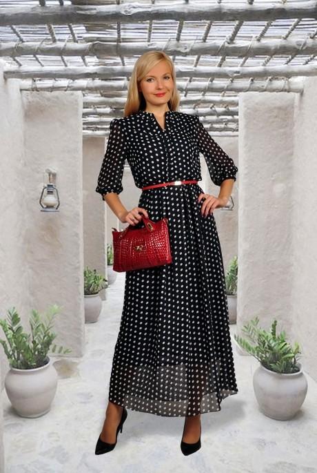Длинное платье МиА-Мода 586-28