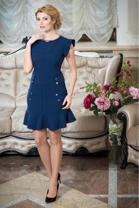 Повседневные платья SandyNa 13201 синий