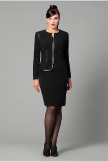 Юбочный костюм /комплект Runella 1119 черный фото 1
