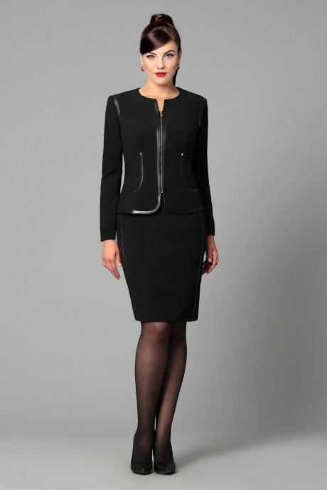 Юбочный костюм /комплект Runella 1119 черный
