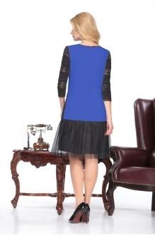 Повседневное платье Нинель Шик 5432 василек фото 2