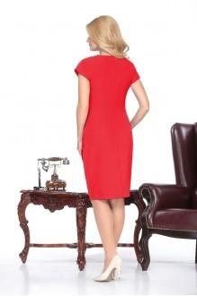 Вечернее платье Нинель Шик 5424 красный фото 2