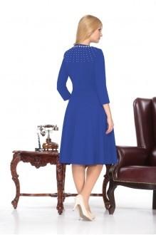 Повседневное платье Нинель Шик 5370 василек фото 2