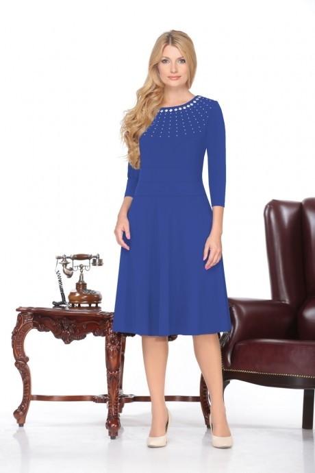 Повседневное платье Нинель Шик 5370 василек