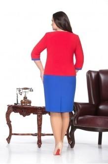 Повседневное платье Нинель Шик 231 василек фото 2