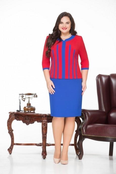 Повседневное платье Нинель Шик 231 василек