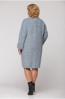 Пальто Надин-Н 1308 серо-голубой фото 2