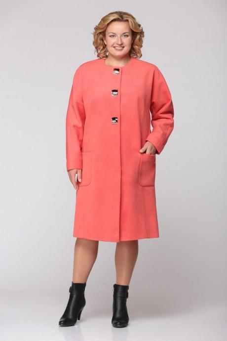 Пальто Надин-Н 1310 коралл