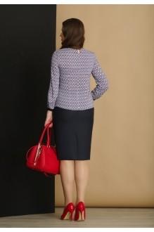 Юбочный костюм /комплект Lissana 2892 ромбы фото 4