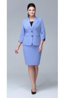 Юбочный костюм /комплект ЛаКона 921 юб голубой фото 1