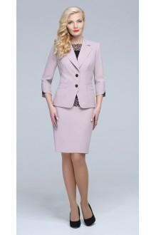 Юбочные костюмы /комплекты ЛаКона 921 юб бежево-розовый фото 2