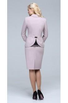Юбочные костюмы /комплекты ЛаКона 921 юб бежево-розовый фото 3