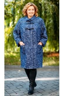 Пальто Aira Style 499 синий фото 2