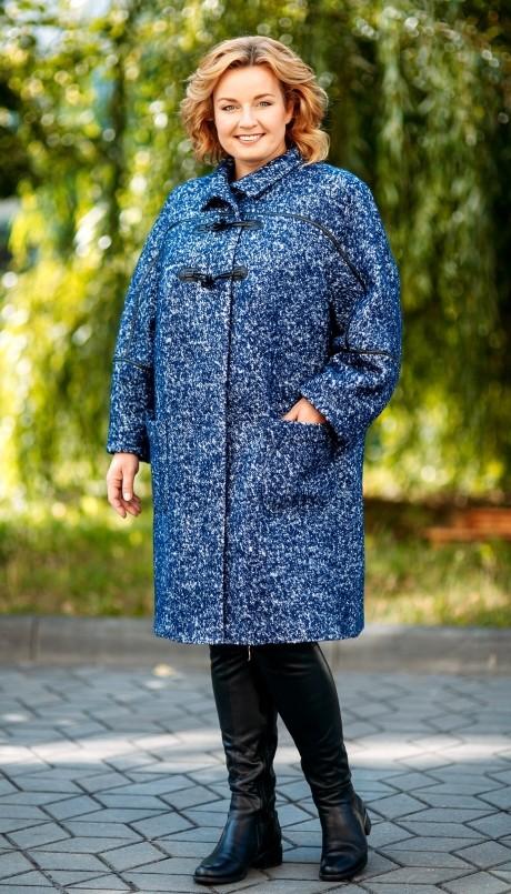Пальто Aira Style 499 синий
