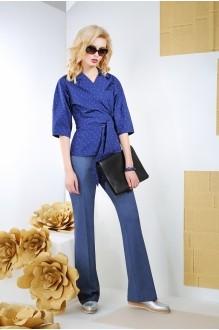 Блузки и туники Anna Majewska 916 синий фото 1