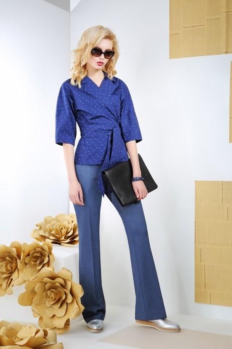 Блузки и туники Anna Majewska 916 синий