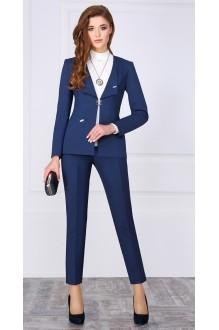 Брючный костюм /комплект ЛаКона 972 Б синий фото 1