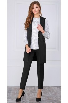 979 Б черный/блуза