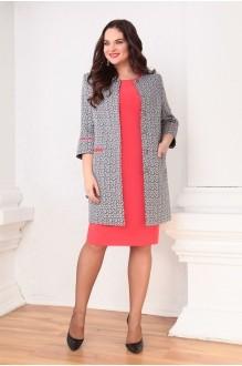 Ksenia Stylе 1316 красное платье