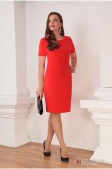 Юбочные костюмы /комплекты Ksenia Stylе 1316 красное платье фото 3