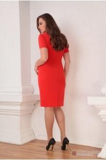 Юбочные костюмы /комплекты Ksenia Stylе 1316 красное платье фото 4