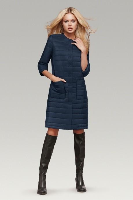 Пальто Prestige 2237 синий матовый
