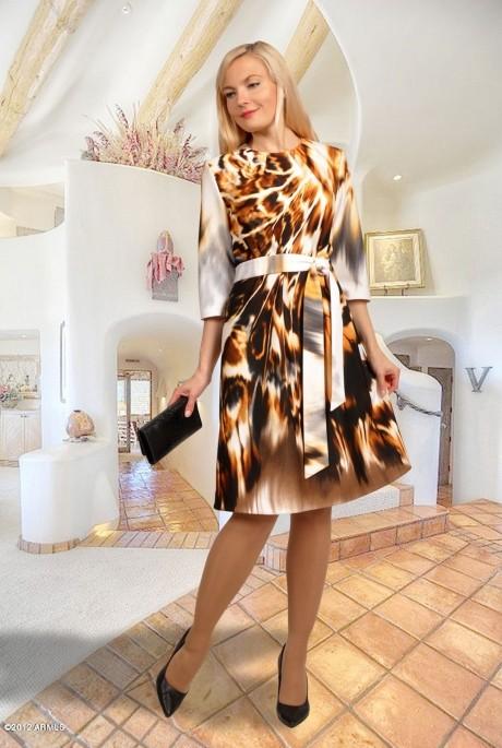 Повседневное платье МиА-Мода 745
