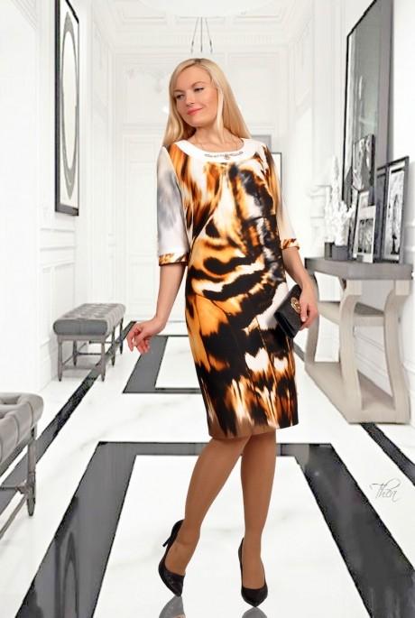 Повседневное платье МиА-Мода 746