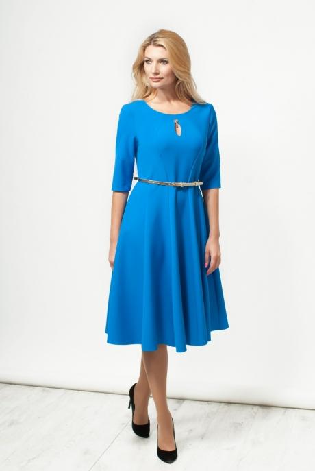 Повседневное платье Moda-Versal П-1601 василек