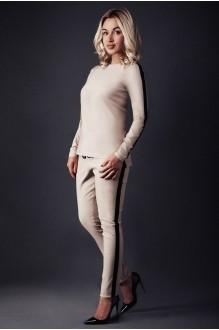 Брючные костюмы /комплекты Beauty 2482 бежевый фото 1