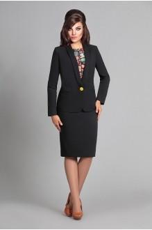 Юбочный костюм /комплект Мублиз 025 черный фото 1