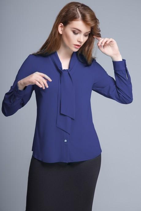 Блузки и туники Teffi Style 1206 темно-синий