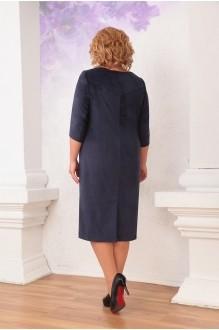 Повседневное платье Орхидея Люкс 738 синий фото 2