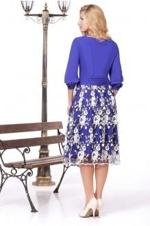 Вечернее платье Нинель Шик 5448 василек фото 2