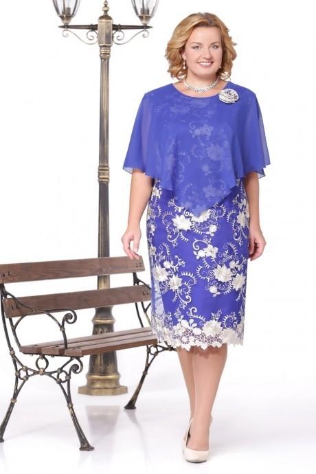 Вечернее платье Нинель Шик 237 василек