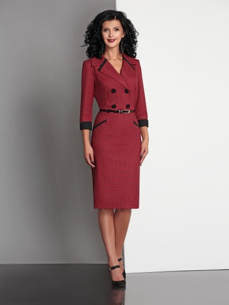 Деловое платье Твой Имидж 4089 -1