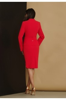 Юбочные костюмы /комплекты Lissana 2871 коралл фото 2
