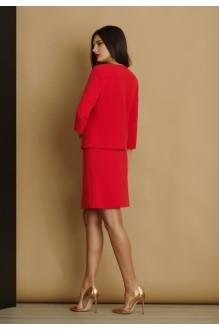 Юбочный костюм /комплект Lissana 2914 красный фото 2