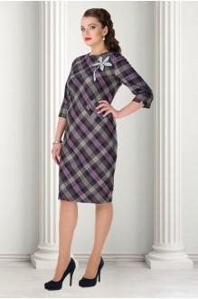 Деловое платье Карина Делюкс 84 полоска фото 1