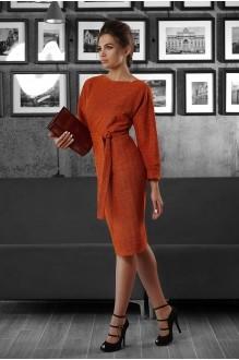 Повседневное платье Люше 1338 оранжевый фото 1