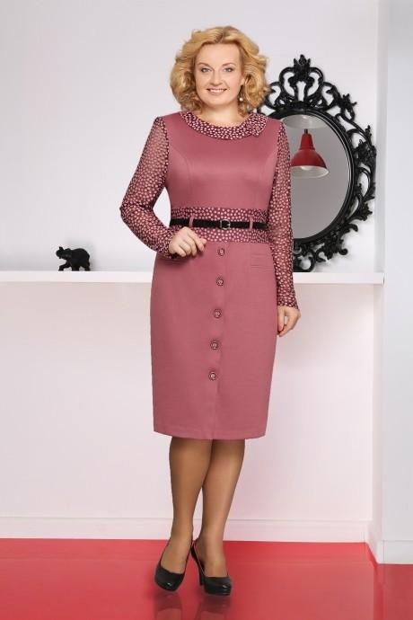 Повседневные платья LeNata 11251 розовый