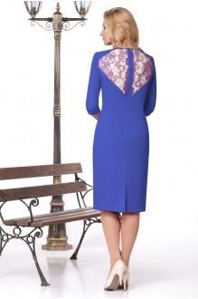Вечернее платье Нинель Шик 241 василек фото 2