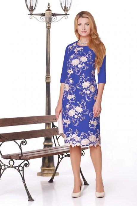 Вечернее платье Нинель Шик 241 василек
