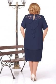 Вечерние платья Нинель Шик 240 синий фото 2