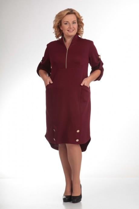 Повседневное платье Прити 473 красный