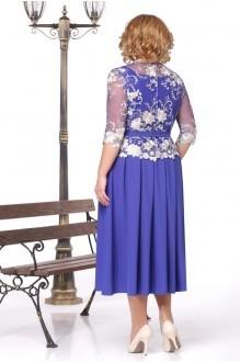 Вечернее платье Нинель Шик 5426 василек фото 2