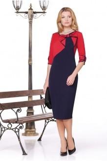 Вечерние платья Нинель Шик 5443 красный фото 1