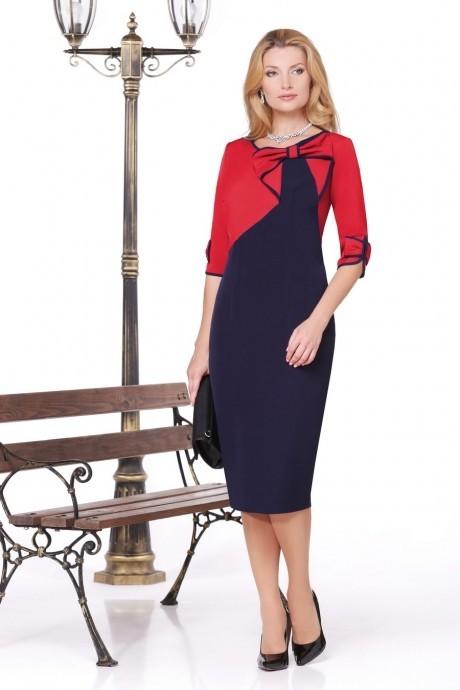 Вечернее платье Нинель Шик 5443 красный